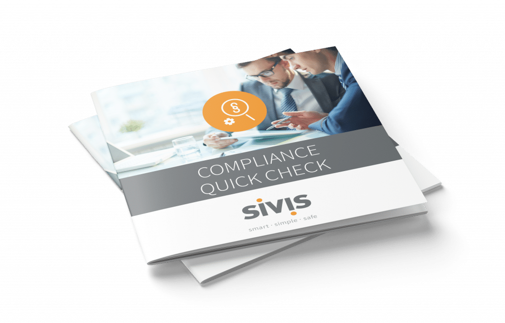 SIVIS Compliance Quick Check Flyer