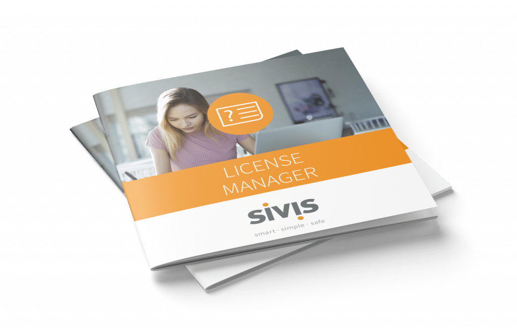 SIVIS License Manager Flyer